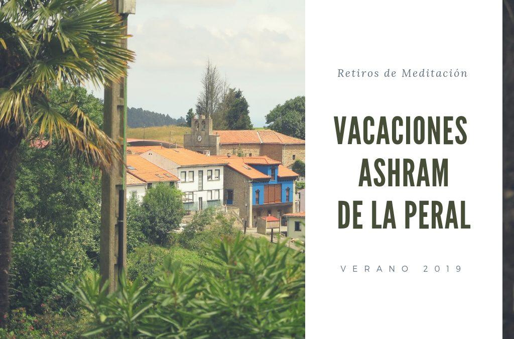 Retiros de Meditación en Asturias, Ashram de la Peral 2019